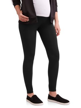 Labor of Love Maternity Over Belly Seamless Leggings - Available in Plus Sizes