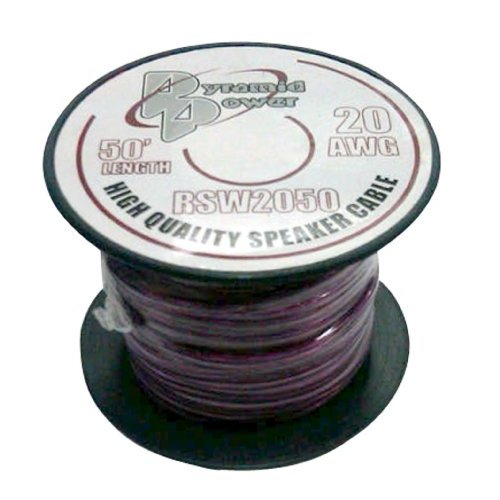 20 Gauge 50 ft. Spool of High Quality Speaker Zip Wire