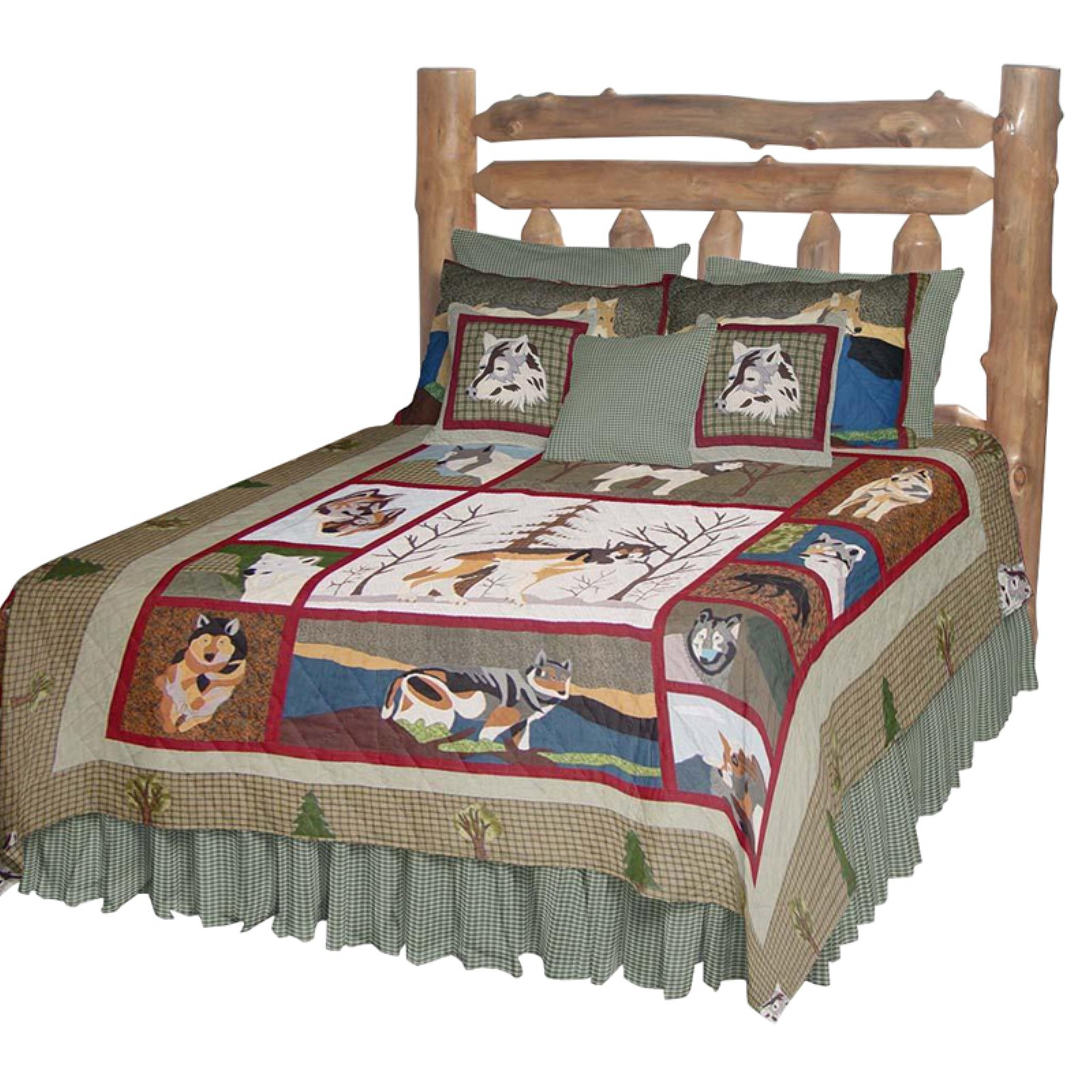 Patch Magic QKCALW Call Of The Wild, Quilt King 105 x 95 inch