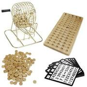 Brybelly Wooden Bingo Game