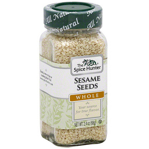 The Spice Hunter Whole Sesame Seeds, 2.4 oz (Pack of 6)