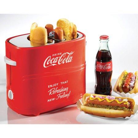 Nostalgia Hdt600coke Coca Cola Pop Up Hot Dog Toaster