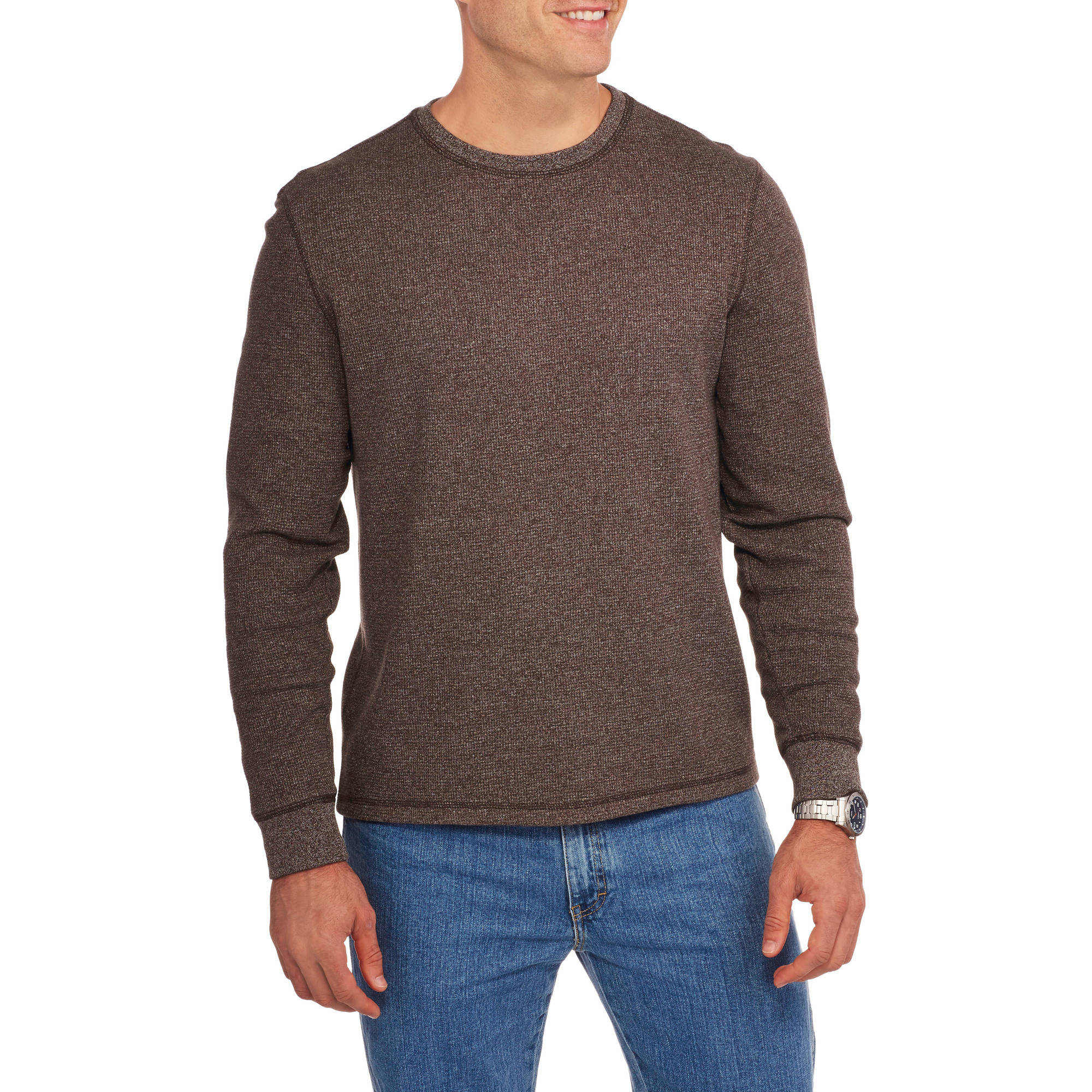 Faded Glory Big & Tall Men's Long Sleeve Thermal Crew