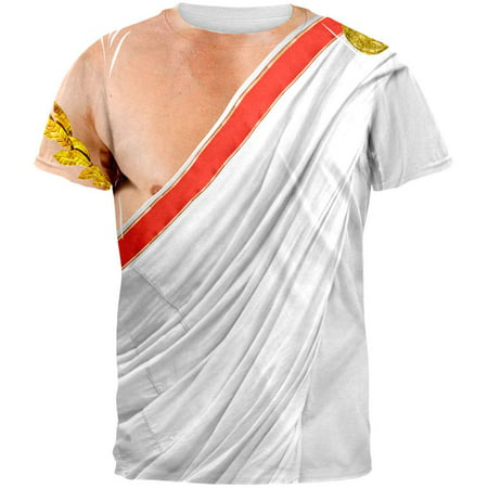 Roman Toga Costume All Over Adult T-Shirt