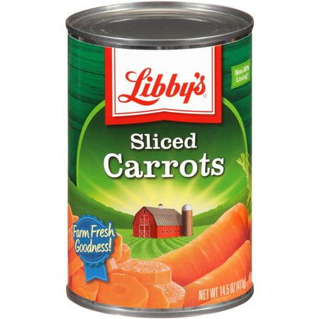 24 PACKS : Libby's Sliced Carrots, 14.5-Ounce Cans