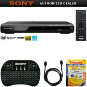 Best Dvd Players Dvd Recorders - Sony DVPSR510H DVD Player + Accessories Bundle Includes Review