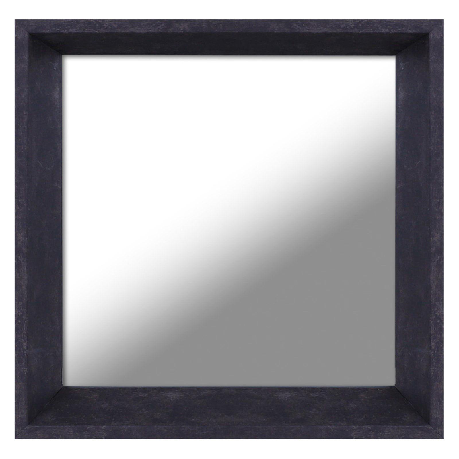 Mirrorize Canada Plastic Mirror White - 10.5W x 10.5H in. - Set of 3