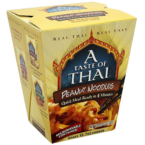 A Taste of Thai: 5.25 Oz Peanut Noodles, 6 Pk, (Pack of 6)