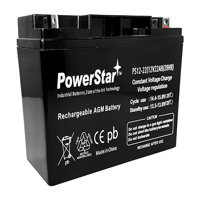 12 volt lawn mower battery 22ah by PowerStar
