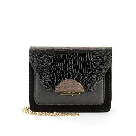 BCBGMAXAZRIA Elenora Leather Shoulder Bag ()