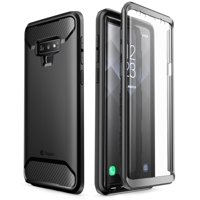 samsung galaxy note 9 case, clayco [xenon series] full-body rugged case with built-in 3d curved screen protector for samsung galaxy note 9 (2018 release)