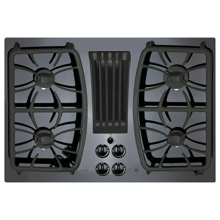 GE Appliances PGP9830DJBB 30 Inch Gas Sealed Burner Cooktop Black