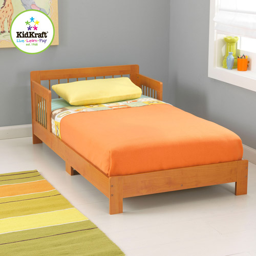 KidKraft Houston Toddler Bed, Multiple Colors