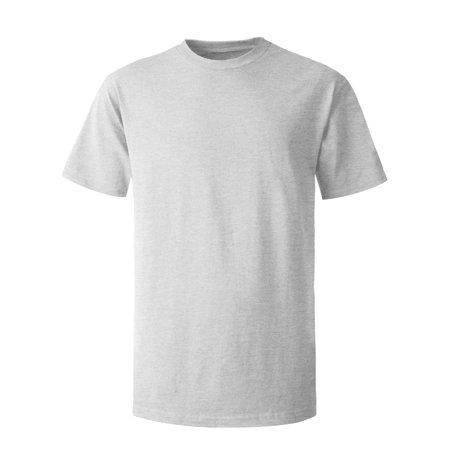 Men's Crew Neck T-Shirts Solid Short Sleeve Tee ()