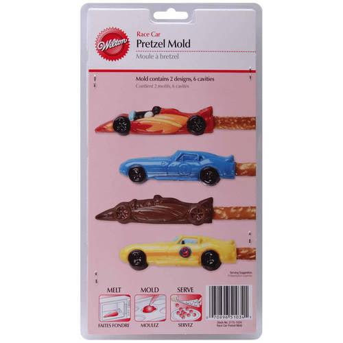 Wilton 6-Cavity Pretzel Mold, Car 2 Designs 2115-1034