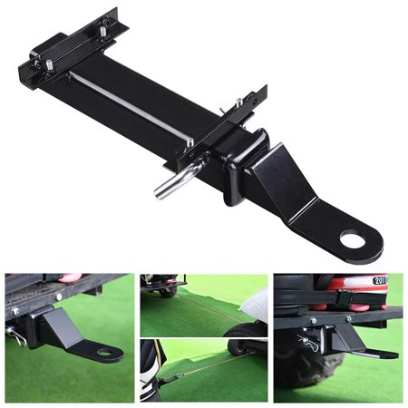 Yescom Universal Rear Seat Trailer Hitch with Receiver for Step on Back of Golf Cart