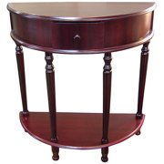 "Ore International 28"" Crescent End Table"