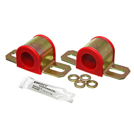 (Energy Suspension All Non-Spec Vehicle Red 23mm Front Sway Bar Bushings)