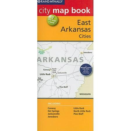 Rand McNally City Map Book: Eastern Arkansas Cities - Party City Arkansas