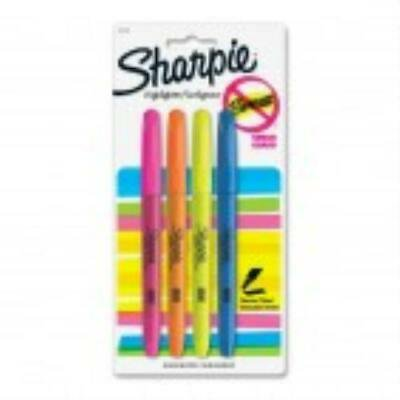 2 units Sharpie Accent Pocket Assorted Highlighter - 4 Pack per unit ()