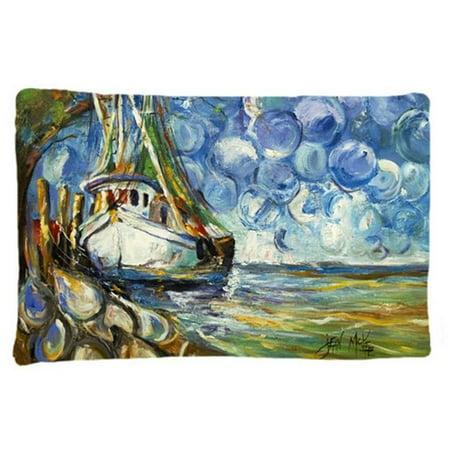 Carolines Treasures JMK1080PILLOWCASE Shrimp Boat 101 Fabric Standard Pillowcase - image 1 de 1
