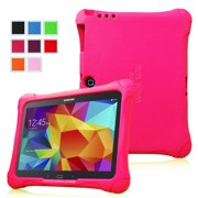 Fintie Samsung Galaxy Tab 3 10.1 and Tab 4 10.1 inch Tablet Kiddie Case - Ultra Lightweight Shock Proof Cover, Magenta