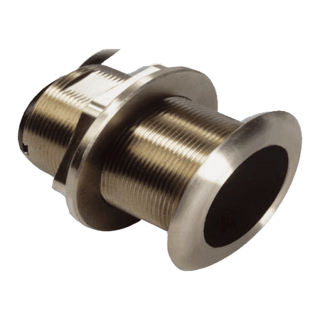Transducer No Plug (Garmin 010-11636-20 Transducer, CHIRP-Mid Frequency, Bronze Low Profile, No tilt, with 8 Pin Plug )