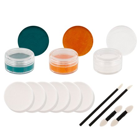 DOLPHINS Football FACE PAINTING SET Makeup Paint Kit (Face Paint For Football Games)