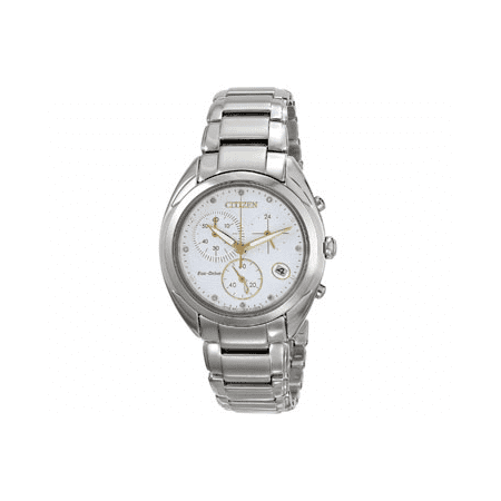 Eco-Drive Celestial Diamond Chronograph Ladies Watch FB1390-53A