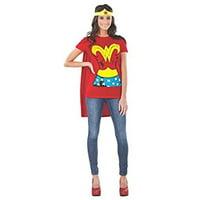 Wonderwoman Adult Halloween Shirt Costume