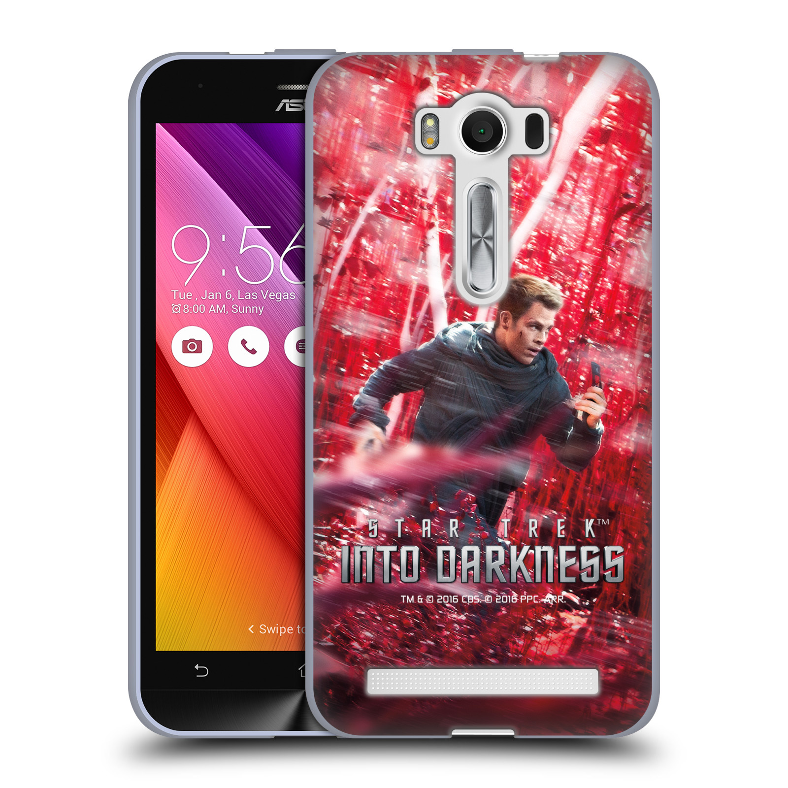 OFFICIAL STAR TREK POSTERS INTO DARKNESS XII SOFT GEL CASE FOR ASUS ZENFONE PHONES
