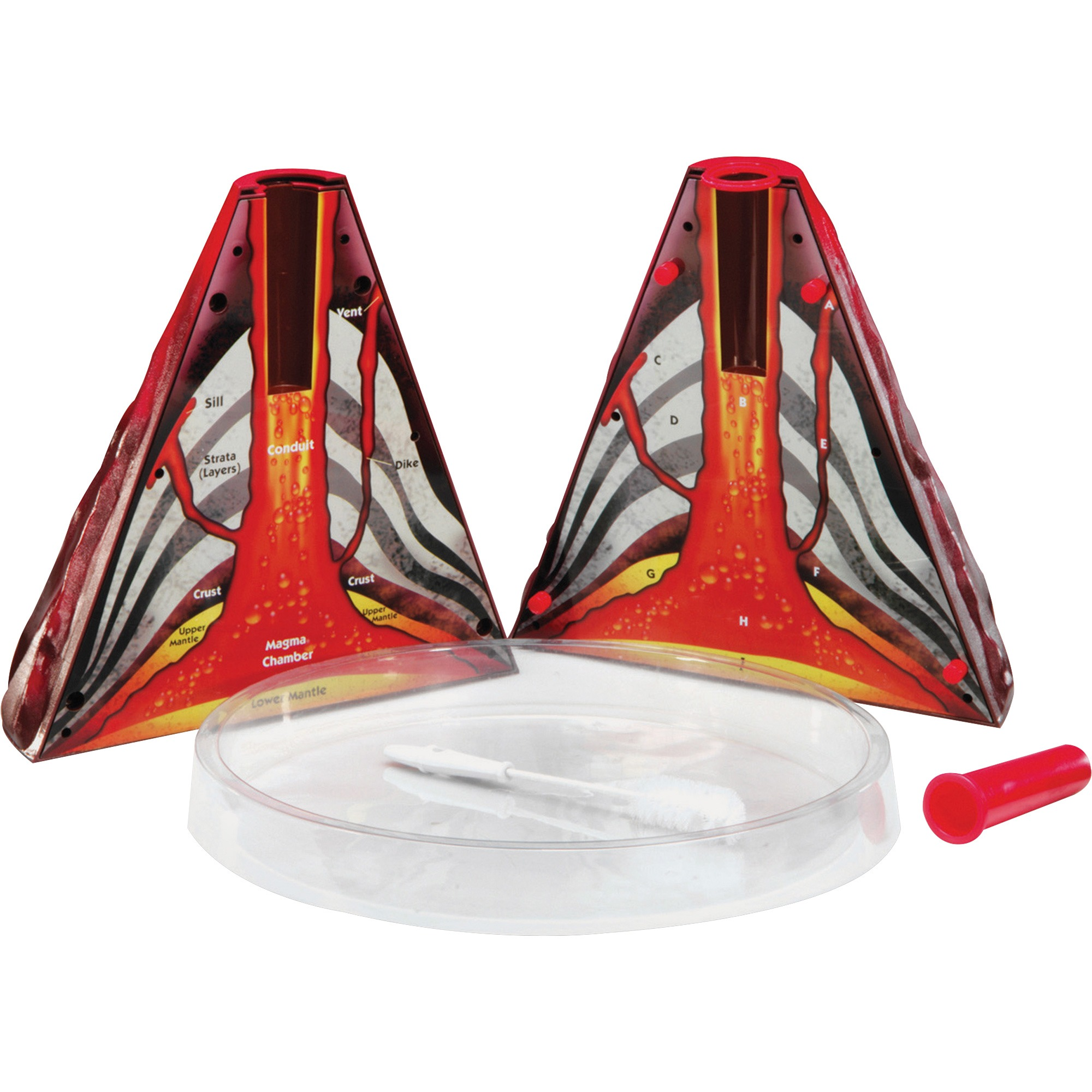Learning Resources, LRNLER2430, Volcano Model Activity Kit, 1 Each