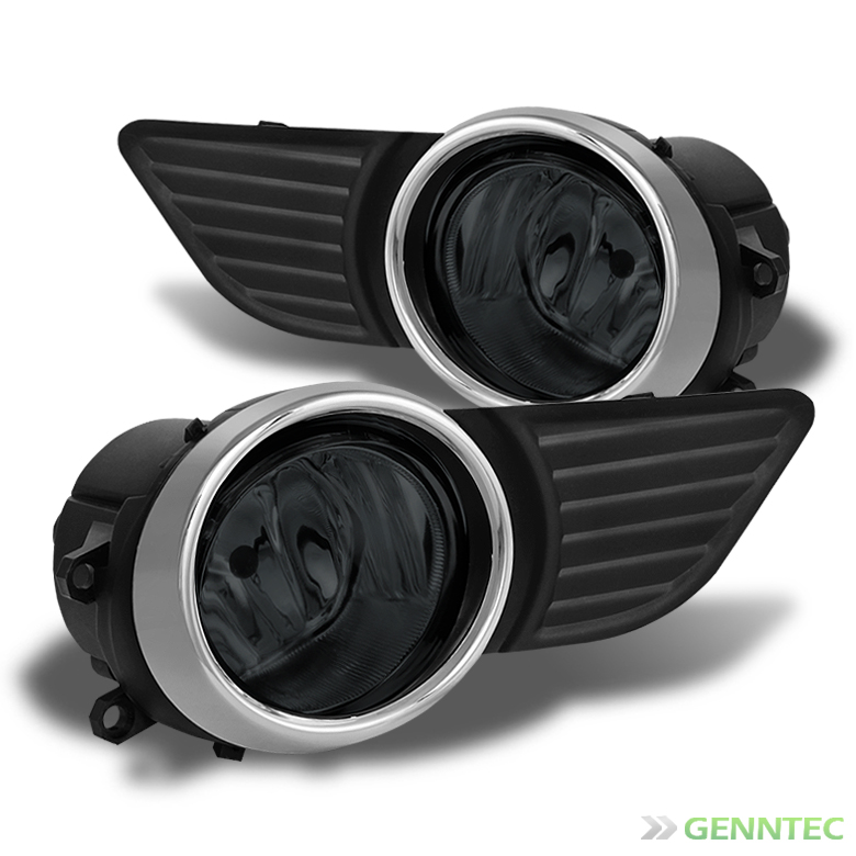 2011-2014 Sienna Smoked Driving Fog Lights Rainy Lamps L+R w/Switch Complete 2012 2013 Pair Left+Right