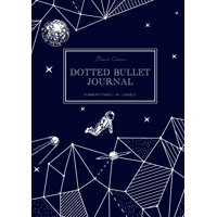 Dotted Bullet Journal: Medium A5 - 5.83X8.27 (Space Walk) (Paperback)