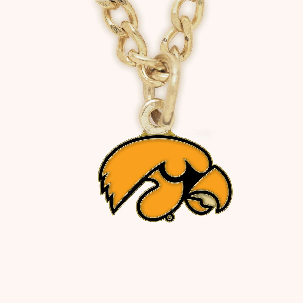 Iowa Hawkeyes Official NCAA 18 inch  Necklace by WinCraft