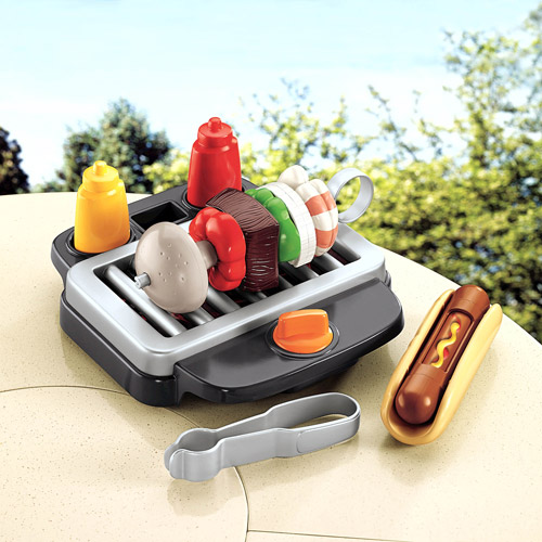 Fisher-Price Servin' Surprises Basic Food Grill Play Set