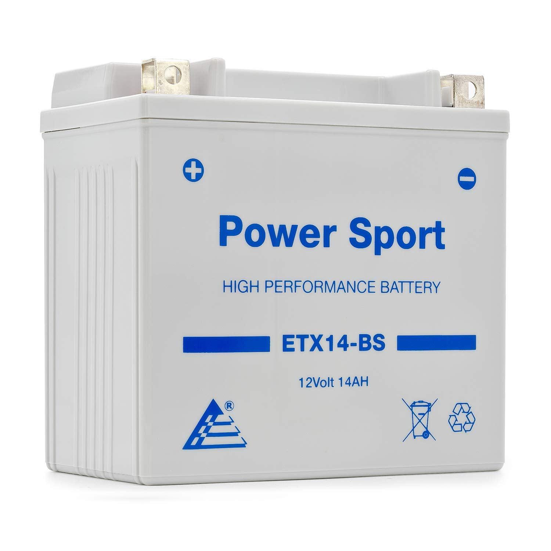 ExpertPower ETX14-BS 12v14Ah YTX14-BS replacment (12V 14Ah Sealed) Maintenance Free Battery
