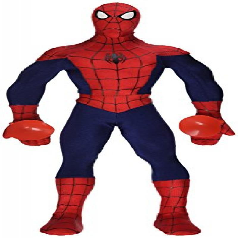 SPIDER-MAN Marvel Spiderman Poseable Action Figure Plush Toy