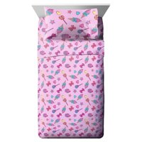 JoJo Siwa Dream Believe Pink & Purple Kids Bed Sheet Set
