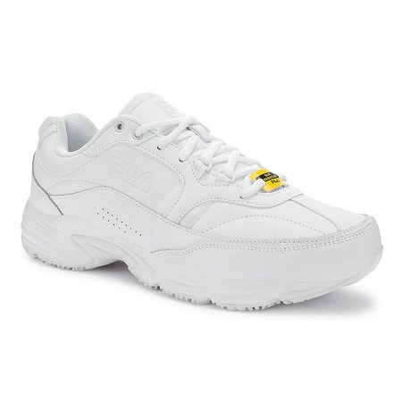 Fila Mens Memory Workshift White Walking Shoes