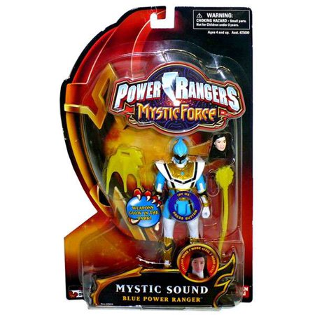 Power Rangers Mystic Force Mystic Sound Blue Power Ranger Action Figure