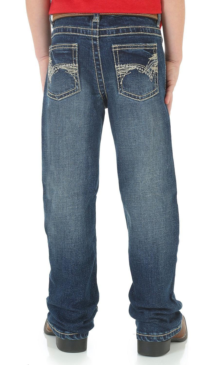 Rock /& Roll Cowboy Boys Double V BB Gun Boot Cut Jeans BB-9576