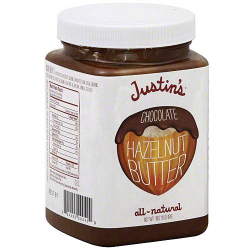 Justin's Chocolate Hazelnut Nut Butter, 16 oz (Pack of 6)