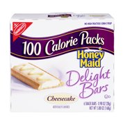 Nabisco 100 Calorie Packs: Honey Maid Cheesecake Snack Bars, 6 Ct