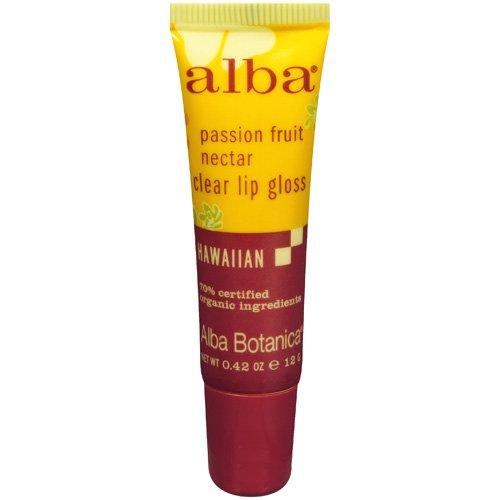 Alba Botanica Passion Fruit Nectar Lip Gloss