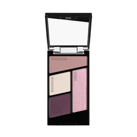 wet n wild Color Icon Eyeshadow Quad, Petalette (Best Warm Eyeshadow Palette)