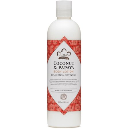 2 Pack - Nubian Heritage Lotion, Coconut and Papaya 13 (Nubian Heritage Coconut)