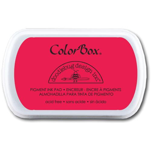 Doodlebug Fullsize Pigment Ink Pad-Ladybug