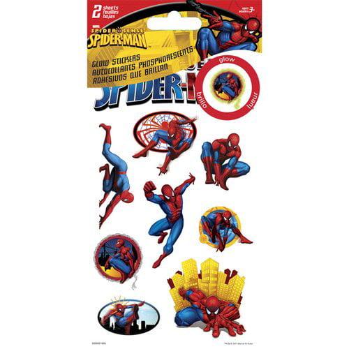 Spiderman-marvel Stdimen Spider Man Dimensional Stickers