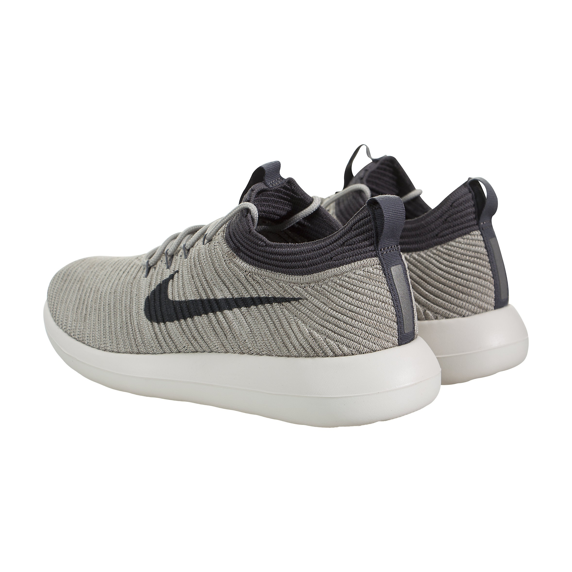 Nike Roshe Two Flyknit V2 Training Pale Grey Women's Running Training V2 Shoes Size 10 bca723